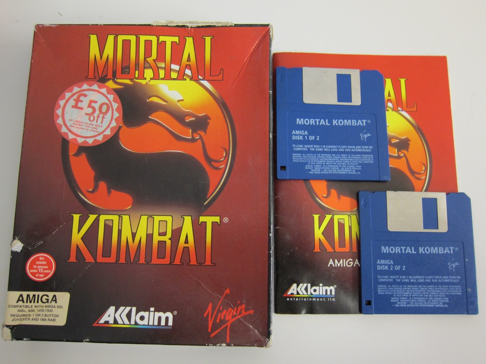 Mortal Kombat - For Sale - Game Bytes - Retro Video Games