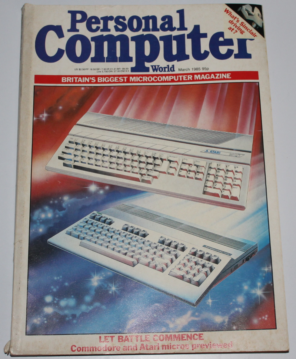 Personal Computer World Magazine - March 1985 - For Sale