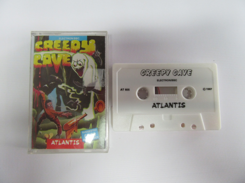 Creepy Cave - For Sale - Game Bytes - Retro Video Games, Vintage