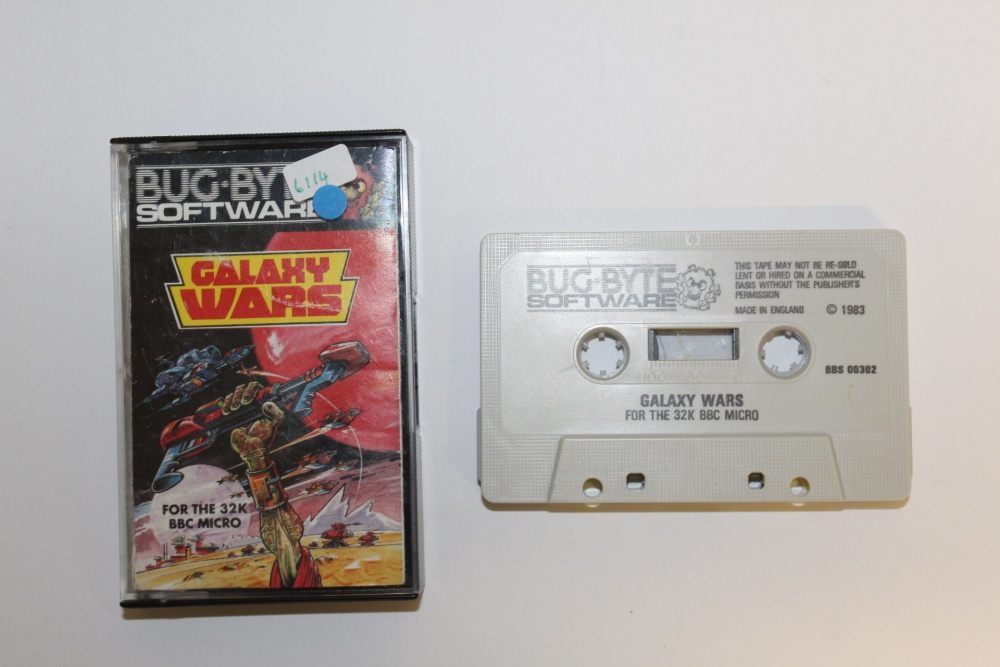Bug Byte Software Galaxy Wars - For Sale - Game Bytes