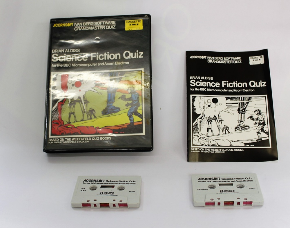 Science Fiction Quiz - For Sale - Game Bytes - Retro Video