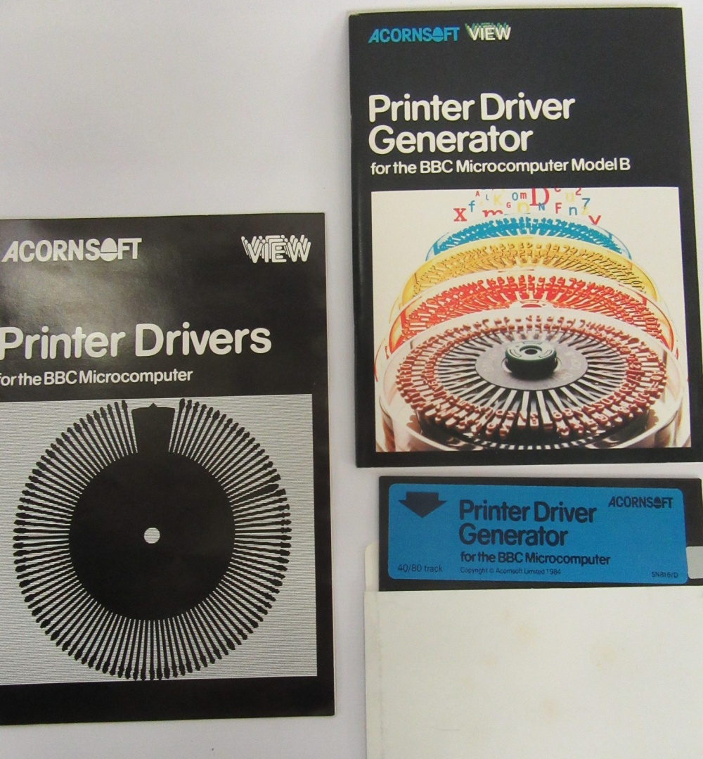 Printer Driver Generator - For Sale - Game Bytes - Retro Video Games