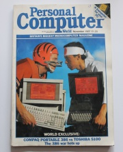 Personal Computer World Magazine - November 1987