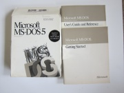 MS DOS 5.0 Manuals ONLY