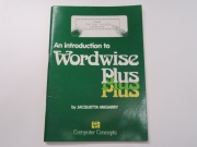 An introduction to Wordwise Plus