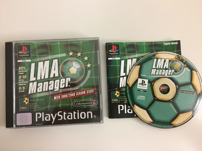 LMA Manager '99-'00