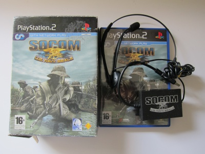 SOCOM: U.S. Navy Seals (w/ Headset)
