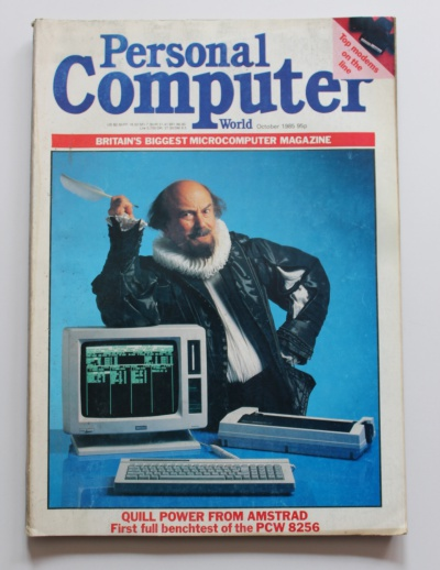 Personal Computer World Magazine - October 1985