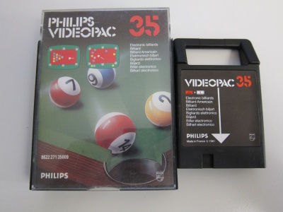 Electronic Billiards - Videopac 35
