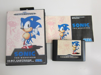 Sonic the Hedgehog (with manual)