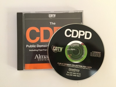 The CDPD Collection for CDTV