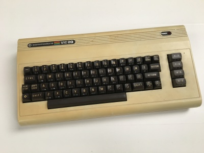 Faulty Commodore VIC20 Computer