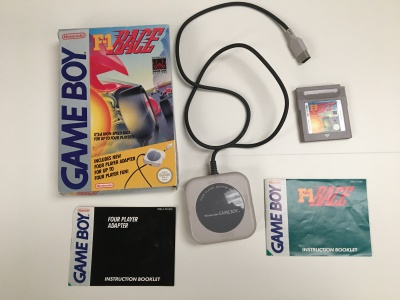 F-1 Race - Gameboy
