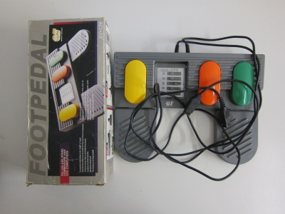 Footpedal for Atari, Commodore and CPC computers
