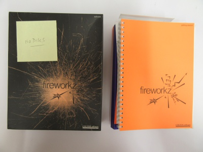 Fireworkz Pro - box and manuals only