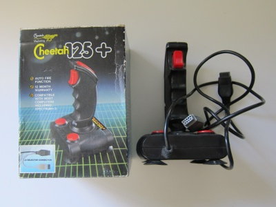 Cheetah 125+ Joystick