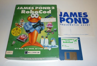 James Pond 2 RoboCod