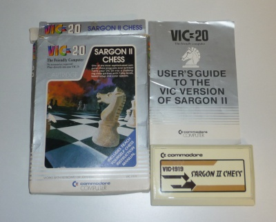 Sargon II Chess (Cartridge) BOXED