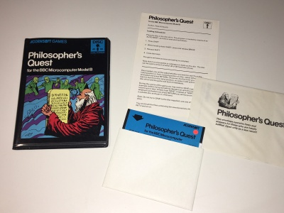 Philosophers Quest - Acornsoft (Disk)