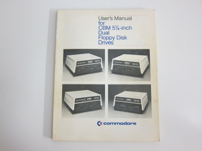 Users Manual for CBM 5 1/4