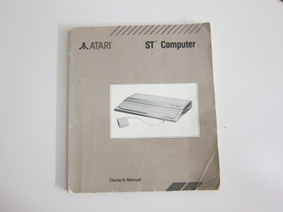 Atari ST Owner's Manual
