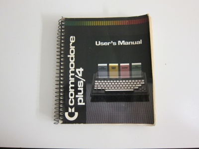 Commodore plus/4 Users Manual