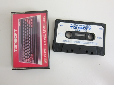 Oric Atmos Welcome Tape