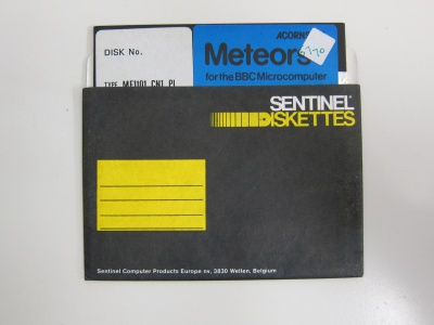 Buy Meteors - DISK ONLY
