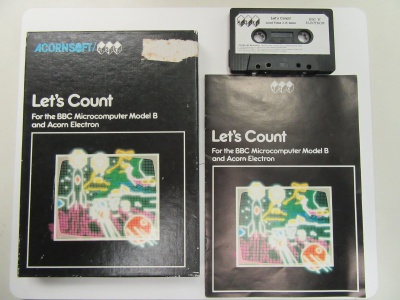 Let's Count (Large Box)