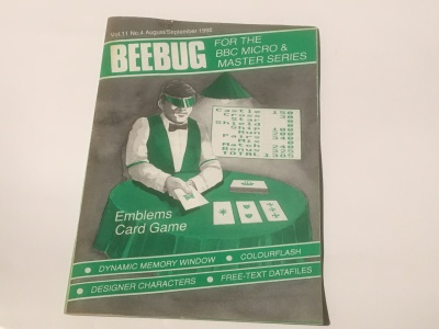 Beebug - August September 1992