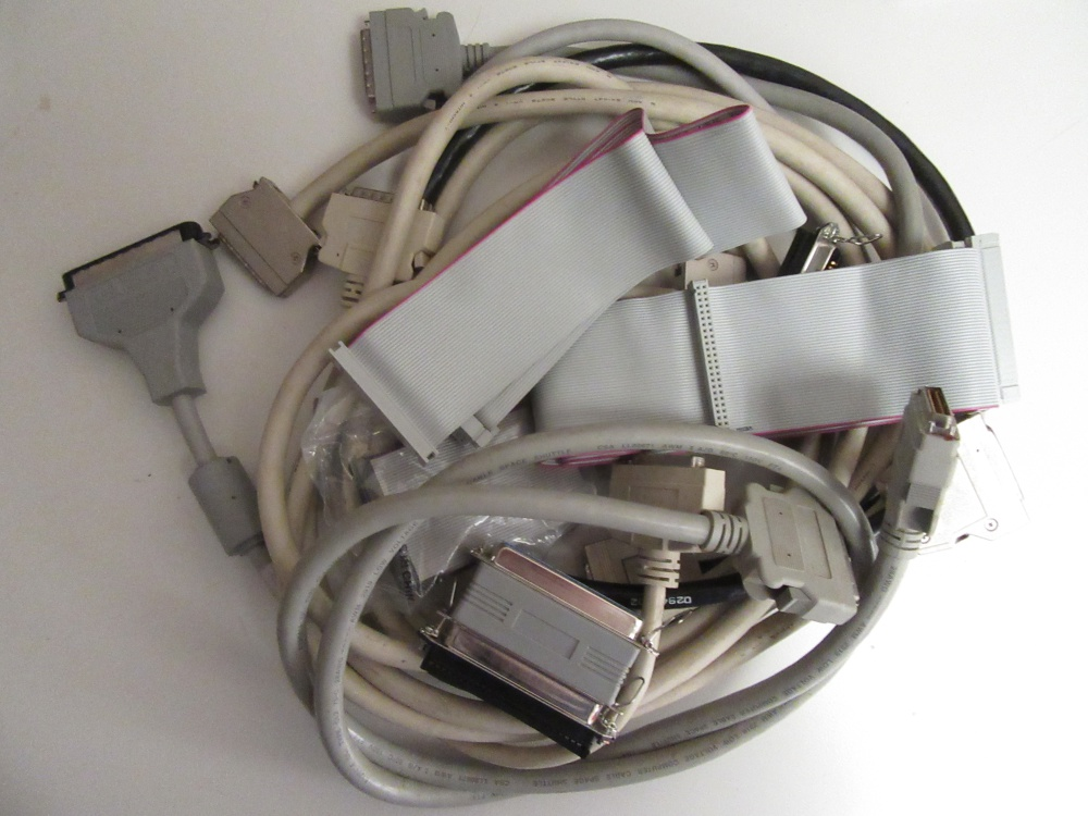 Bundle of SCSI Controller cards and cables - For Sale - Game