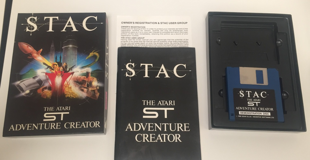 STAC - The Atari ST Adventure Creator - For Sale - Game