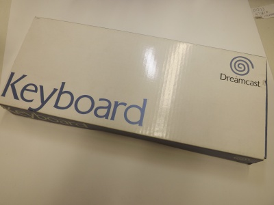 Picture of Sega Dreamcast UK Keyboard - Boxed