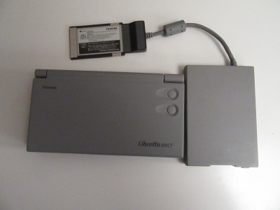 Image of Toshiba Libretto 50CT (not working sold for spares)